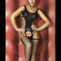 2015 women's underwear gauze thin transparent cutout mesh tights frighteningly hot