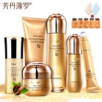 Golden Snail Firming Repair Cream Face Care Acne Skin Care Treatment Anti wrinkle Whitening Moisturizing Face Eye cream 5pcs
