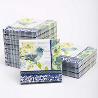 [12 packs]100% virgin wood pulp food-grade printed paper napkins wedding paper napkin colorful party paper serviettes -4NC3590
