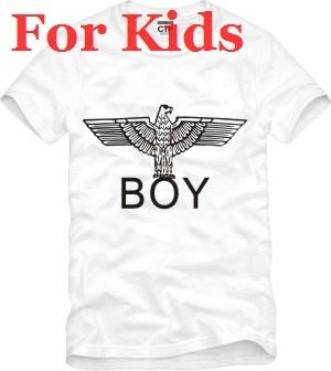 For kids size 90/100/110/120/130/140/150cm boy london t shirt short sleeve t-shirt eagle tee shirt boy girl hip hop tshirt(China (Mainland))