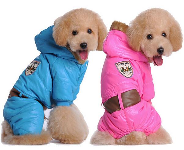 2015 new dogs thicking jumpsuits doggy warm hoodies puppy fashion sweatershirts pets costume dog products 5 pcs/lot(China (Mainland))