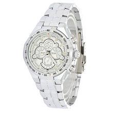 Hot Fashion Jewelry MEGIR Brand Suppliers Promotions New Leisure Business Luxury Man Business Gifts Steel Belt
