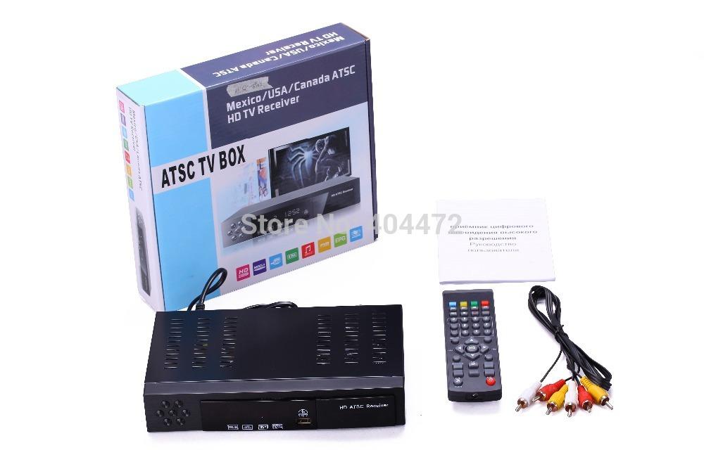 Digital ATSC TV Tuner 1080P Chinese TV Box Receiver support USB/HDMI for Mexico/USA/Canada(China (Mainland))