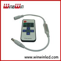 Mini RF Wireless Dimmer Controller 10keys RF Remote Control for 5050 3528 single color Strip light 10pcs/lot