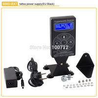 2014 Hot Selling 600D-BX7 Tattoo Power Digital Dual LCD Display Tattoo Power Supply For Tattoo Machine Gun Kits Free Shipping