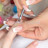A1  New 3pcs/lot UV Gel Acrylic Nail Tips Nail Art Brush Pen Brush Nail Pen Carved  T1011 P
