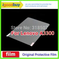 New 2014 5pcs 100% original lenova Lenovo A7-30 (A3300) A3500 189*116mm clear screen Protector 7inch protective film for tablets