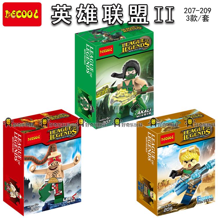 Детское лего Decool 207/209 Minifigures Legens /Xinzhan 207-209 детское лего december s abs marvel 8 249