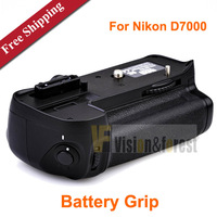 Vertical Battery Grip Pack Camera Battery Grip Multifunction DSLR Battery Grip for Nikon D7000 Free shipping