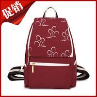 Korean outdoor small fresh backpack leisure students small bag travel backpack waterproof cloth handbags wholesale