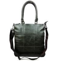 Luxury Vintage Designer Top Genuine Oil Wax Leather Cowhide Women Tote Handbag Shoulder Messenger Cross Body Bag Bags For Ladies