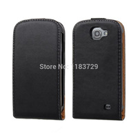 Ultra Thin Vertical Flip Cases For Samsung Galaxy Express/i8730 Genuine Leather Luxury Up and Down Open Flip Case