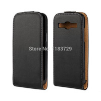 Ultra Thin Vertical Flip Cases For Samsung Galaxy Trend3/G3502 Core Plus/G3500 Genuine Leather Luxury Up and Down Open Flip Case