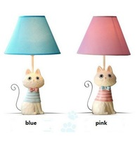 Creative Novelty Cartoon Animal Cat Fabric PVC Lampshade Bedroom Decoration Table/Desk/Reading/Study/Night Lights/Lamps/Lighting