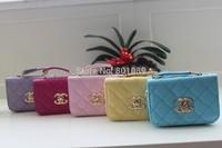 2015 Factory direct sales  bag metal letter C Girl's Messenger Bag Ladies Handbag wholesale or retail