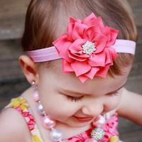 Baby Hair Accessories Headband Acessorios Para Cabelo Children Headbands Girls Big Flowers Hairband FS2026