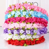 5PCS/Lot Girls Sweet Flower Headband Hair Accessories Baby Children Hair Clip Acessorios Para Cabelo Princess Hairband FS2032
