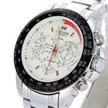 MEGIR Jewelry Waterproof Sports Brand Watch Korean Luxury Men Casual Business Steel Quartz Watch Small Dial
