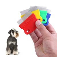 LS4G  2015 New Pet Dog Puppy Cat Hair Flea Removal Cleaning Toothed Comb Grooming