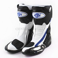 New Motorcycle Shoes Boots PRO-BIKER SPEED BIKERS Racing Boots Motocross Motorbike Boots Size: 40/41/42/43/44/45 Free Shipping