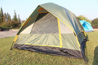 KL0016 Quick Fully Automatic Opening Camping Tent Snow Camp 3-4 persons Single Layers Free Shipping EMS DHL FEDEX Shippment