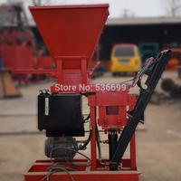 Diesel engine china clay brick making machine,ECO brava