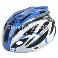 Road Bike Bicycle BMX Cycling Helmet Visor Adjustable Blue Size L#HW0153
