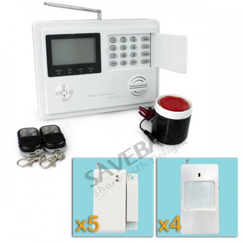 Home GSM PSTN Telephone Auto-dial Security Burglar Alarm System Wireless Kit(China (Mainland))