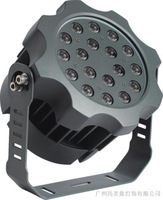 18W outdoor light Brighten LED Floodlights waterproof IP68 dmx512 control pmw garden AC85-265  dc12 24v