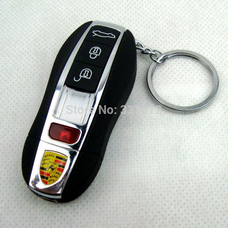 1pc USB Electronic Cigarette Lighter Usb Electronic Lighter Rechargable Battery Flameless Key Ring Black Can Be