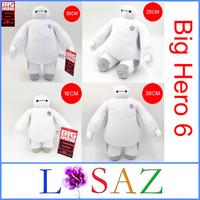 ( 4PCS/SET ) Children's Gift SIZE 18CM 25CM 30CM 38CM BigHero 6 Baymax Stuffed Plush Toy Large Ultra Soft Baby Classic Toys