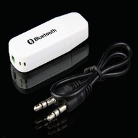New Hot Sales USB Bluetooth Music Receiver Adapter 3.5mm Stereo Audio For iPhone 4 5