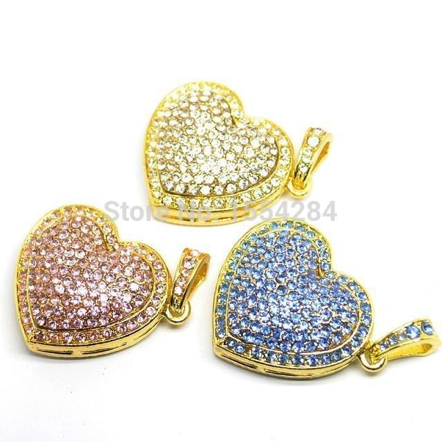 Heart USB Flash Drive USB Flash Disk Gift Diamond Crystal Pen Drive 8GB 16GB 32GB 64GB USB2.0 pendrive(China (Mainland))