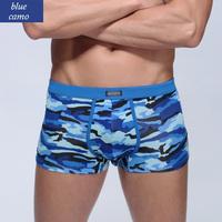 Camouflage Underwear Trunk Cuecas Boxer Shorts Modal Underwear Men Cuecas Sunga