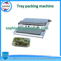 HW-450 Cling Film Tray Wrapping Machine