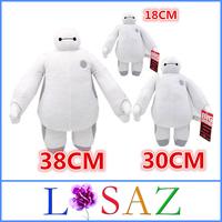 ( 3PCS/SET ) High Quality Christmas Gift SIZE 18CM 30CM 38CM BigHero 6 Baymax Stuffed Plush Toy Large Ultra Soft Classic Toys