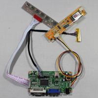 DVI+VGA lcd controller board RT2261 work for 15.4inch LTN154X3 N154I3-L02  LP154WX4 LP154W01 1280*800 lcd panel