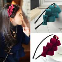 Fashion Girls Hair Bows Baby Hair Accessories Para Cabelo Children Headbands Cute Kids Hair Band FS2027