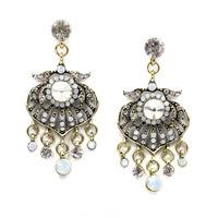 New 2015 Min order $10 Trend fashion hot sale women crystal stud earring vintage statement fashion Earring