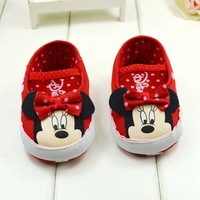 Minnie baby shoes  toddler shoes soft outsole  baby girl shoes
