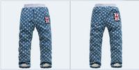 France KK Rabbit children's jeans wholesale children's thick pants SL1407