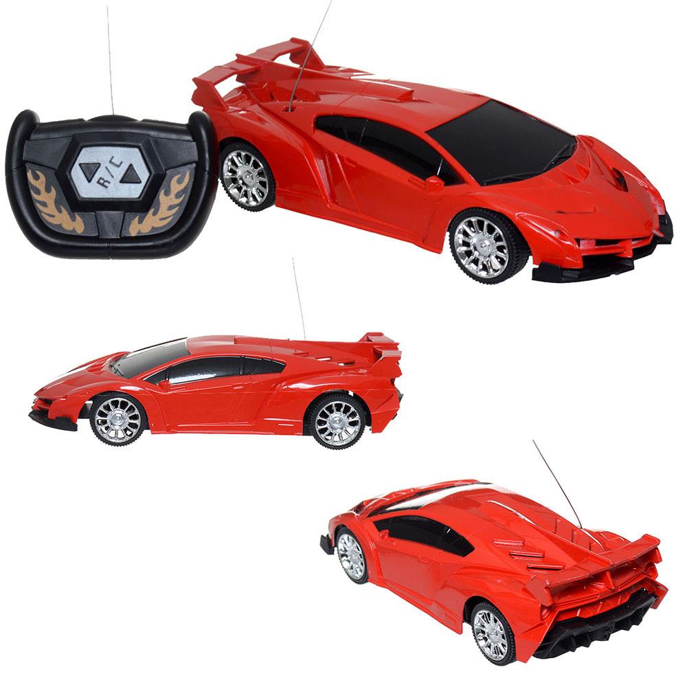 Super Racing Car Rc Speed Radio Remote Control Sports Car 1:24Motor Xmas Gift Kid(China (Mainland))