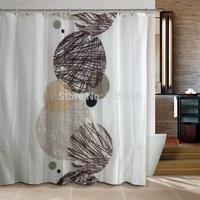 New arrival Black stones products  bathroom curtain shower curtain terylene bath curtain 180x180cm ,screen shower,curtain bath