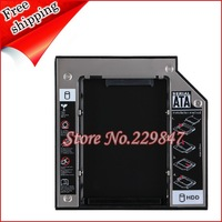 2nd SATA Hard Drive SSD HDD Caddy for DELL Inspiron 17R 5720 7720 SN-208 GT80N  12.7mm