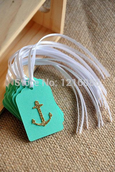 Cheap anchor earrings
