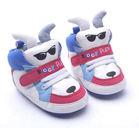 Free Shipping 2015 cartoon rock bear warm baby shoes leisure first walkers children's new born footwear shoes 3359