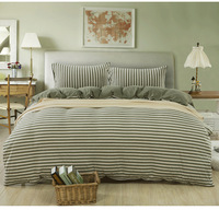 Bedding set/Sheet/ 4pcs/100% Cotton Bed set,Comforter MUJI design /Bedclothes,Twin/Full/Queen/King Size /Free Shipping/32001