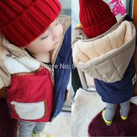 Children's clothing 2014 male female child thickening wadded jacket cotton-padded jacket cotton-padded jacket baby winter child