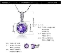2015 star fashion s925 pure silver pendant rotation pendant 925 women's pendant