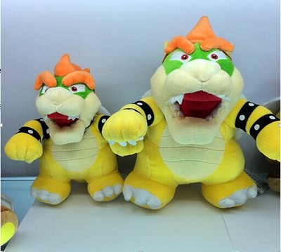 25cm Super Mario plush doll stuffed toy dragon station Kuba(China (Mainland))